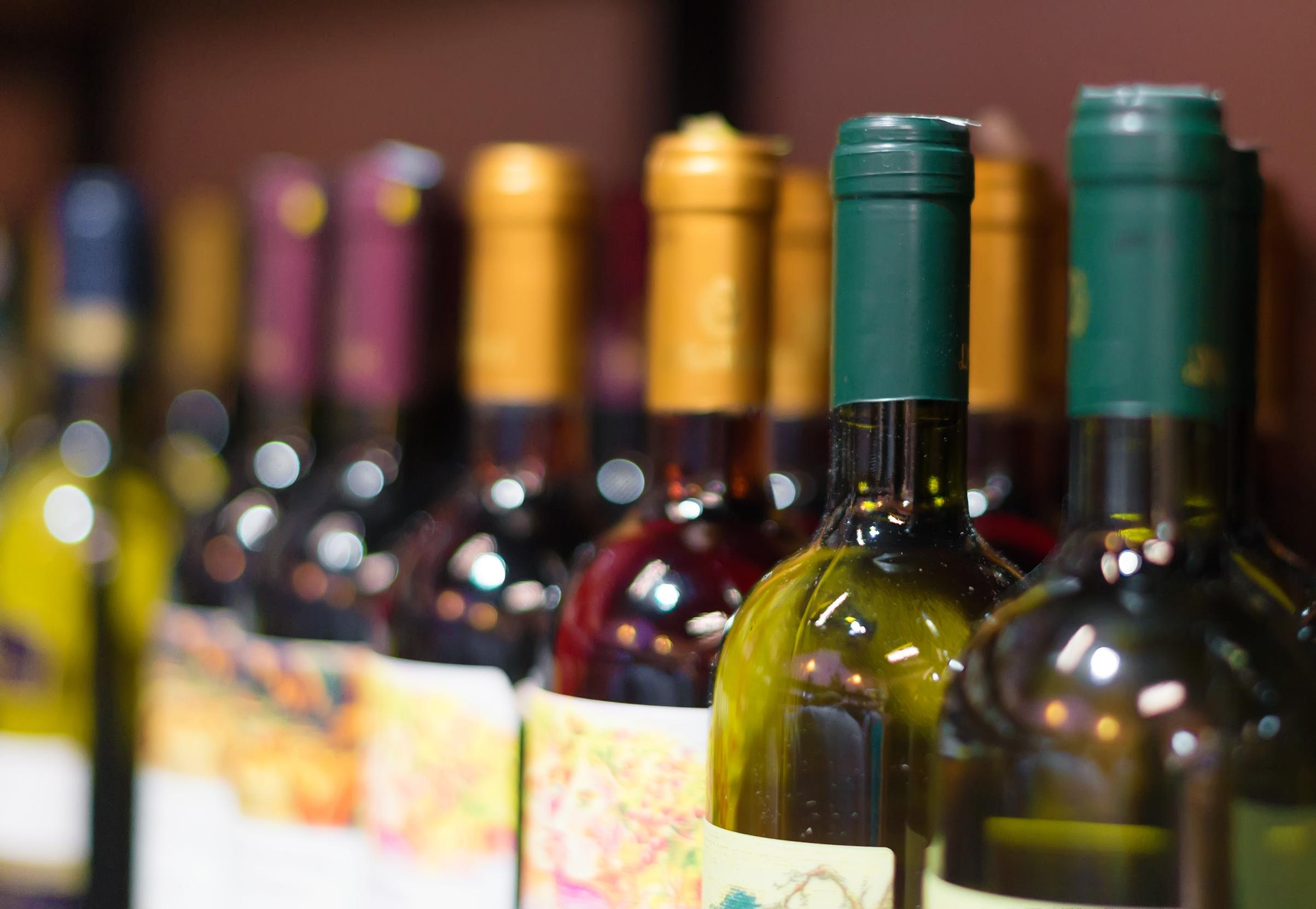 Importerat vin från Tyskland |