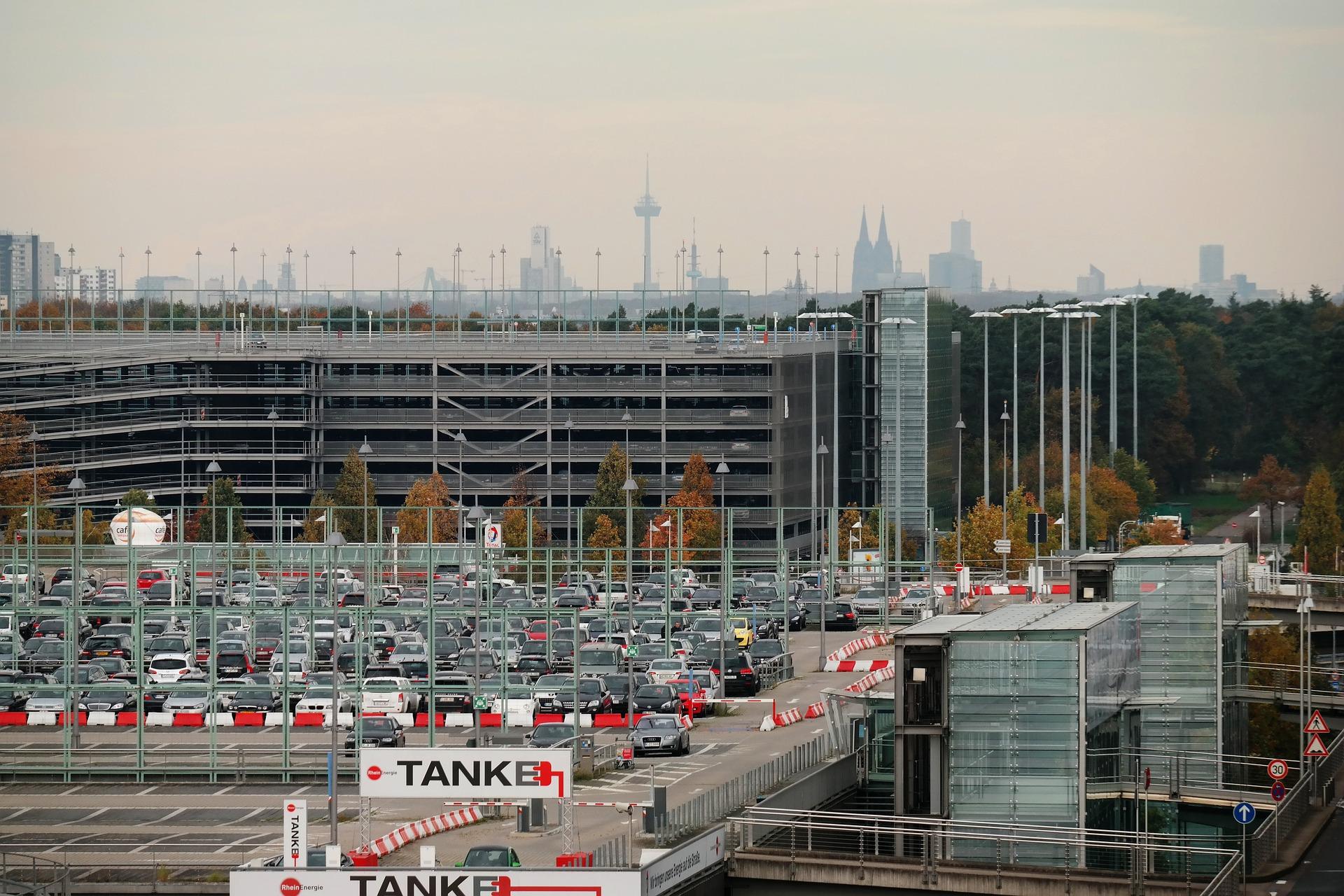 Car Parking at Airport