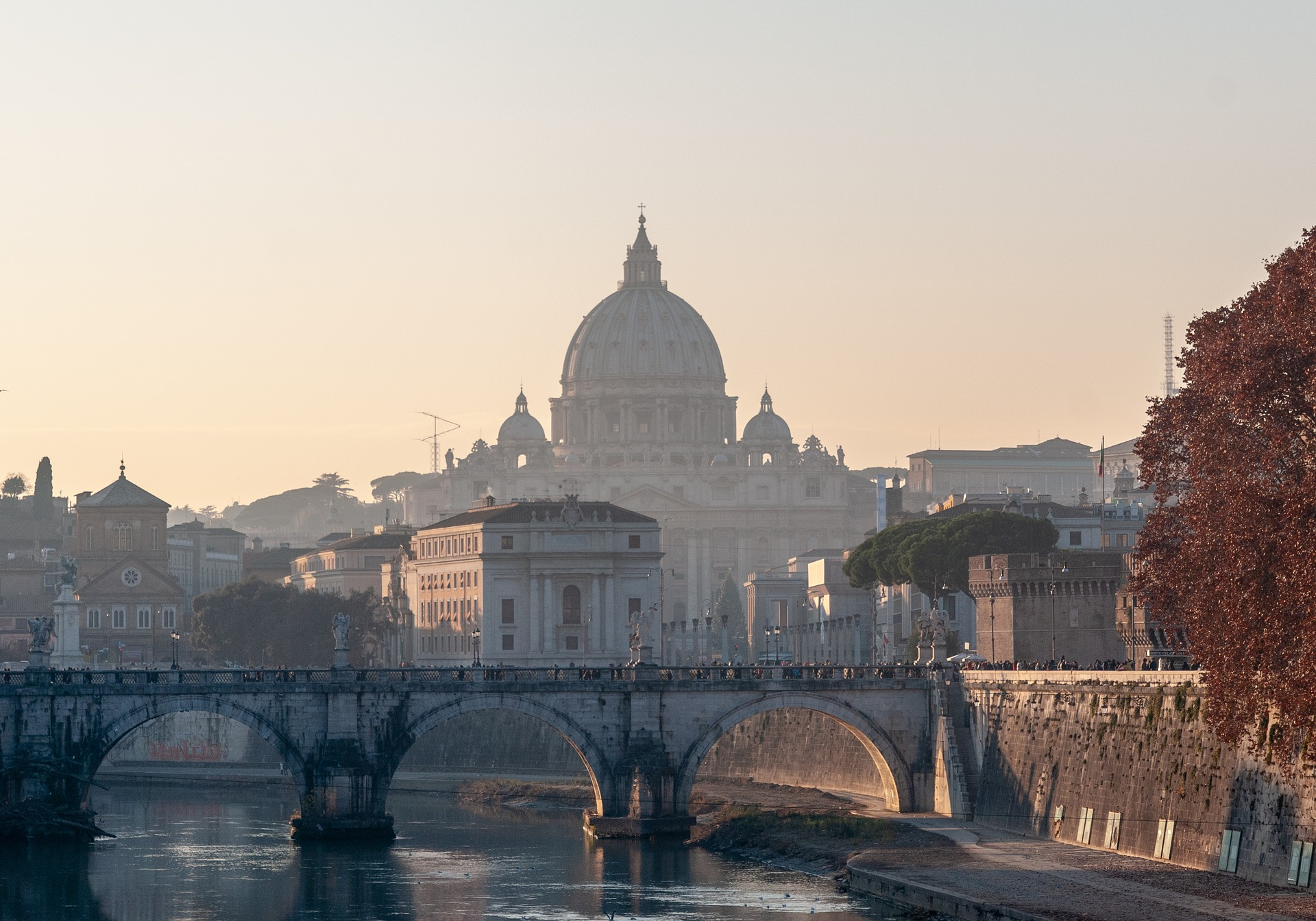 Conference Travel Rome - Rome Sunset -